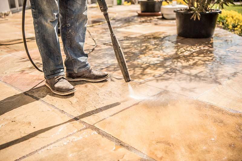 Terrassenreinigung Kosten